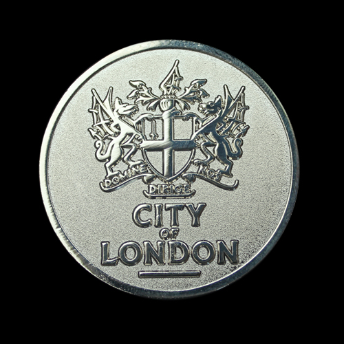 City-of-London-50mm-Silver-Frosted-Polished-Sports-Medal