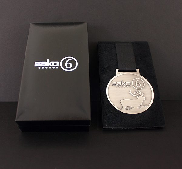 Sako 6 Commemorative Medal with presentation case - review from company rated Medals Uk as Professional Service Throughout