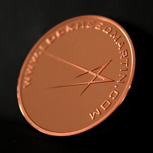 Lockheed Martin Custom Made Commemorative Coin