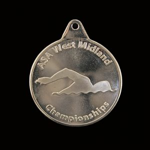 Medals UK produced the West Midlands Championships ASA Sports Medals for the 2016 Swimming event