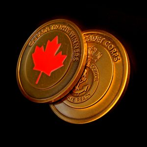Sea Cadet Corps Commemorative Coin Celebrating Canada Trophy Winners for MSSC