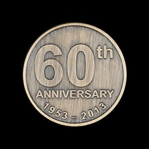 Bracknell Athletics Club anniversary coin