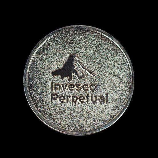 Invesco Perpetual Adventure Race - Highland & Lakes Adventure Race medals 2012/13 - 50mm gold frosted/polished custom made sports medal