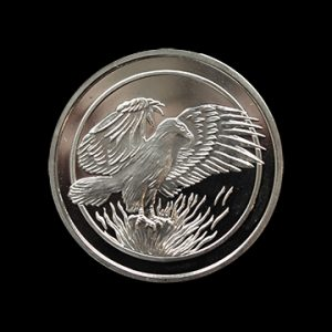 Phoenix Postal Leagues Medal - 38mm silver minted medal - by Medals UK
