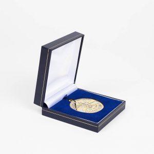 RLSS Sport Award 40mm Bronze Frosted/Polished Sports Medal