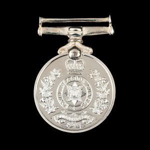 Royal Dragoon Guards 19mm Ag 925 Pl Miniature Military Medal Obverse