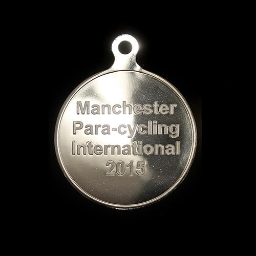 Para Cycling International Custom Made Sports Medal - 50mm