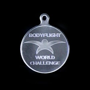 Body Flight World Challenge Winners Medals in Silver
