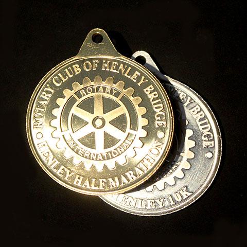Henley Half Marathon and 10K Sports Medals - Rewards for Henley Half Marathon participants by Medals UK