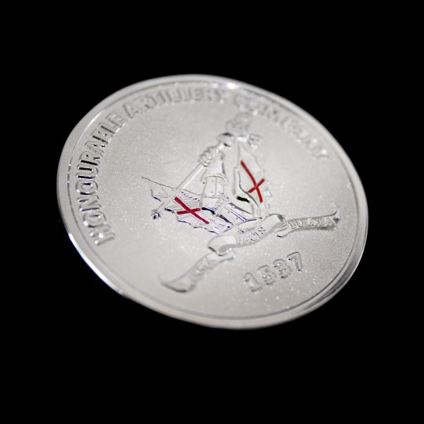 Honourable Artillery Company (HAC) Commemorative Coin featuring Short Arms by Medals UK