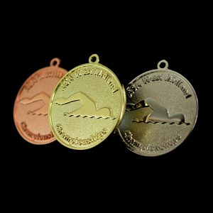 ASA West Midlands Championship Swimming Medals