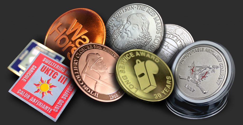 Personalised Coins  Bespoke, Custom Designs - UK Medals