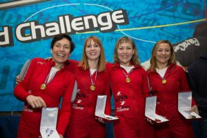 Bodyflight World Challenge 2017 Team of four with medals